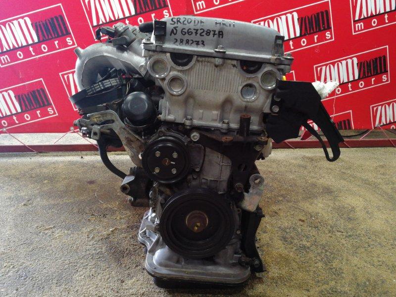 Двигатель Nissan Presea HR11 SR20DE 1995