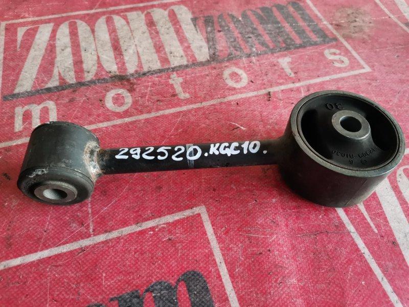 Подушка двигателя Toyota Passo KGC10 1KR-FE 2004 передняя