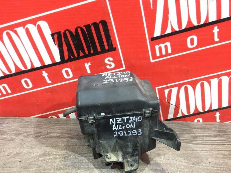 Блок реле и предохранителей Toyota Allion NZT240 1NZ-FE 2001 передний
