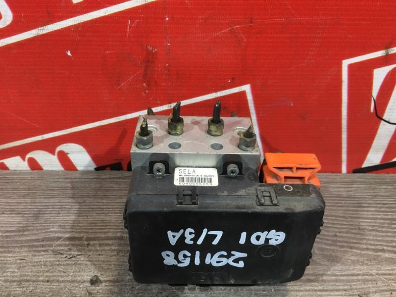 Блок abs (модулятор abs) Honda Fit GD1 L13A `2005 передний