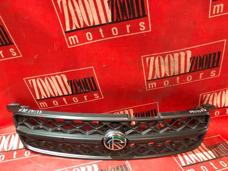 Решетка радиатора Nissan R'nessa N30 SR20DE 1997 передняя черный