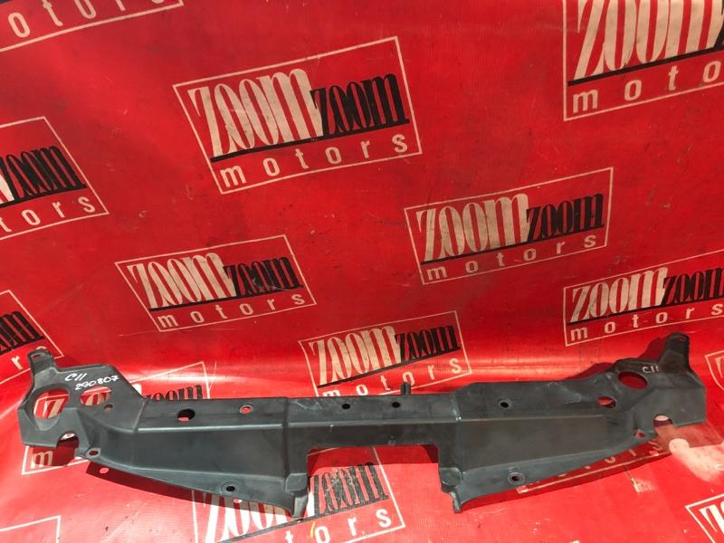 Накладка на решетку радиатора Nissan Tiida C11 HR15DE 2004 передняя