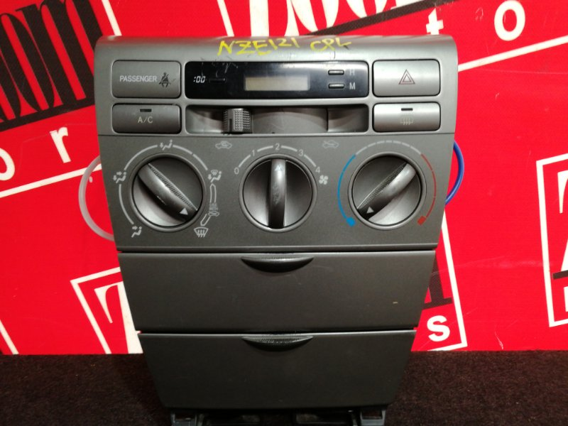 Блок управления отоплением и вентиляцией Toyota Corolla Fielder NZE121G 1NZ-FE 2000