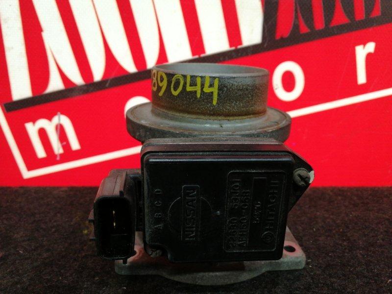 Расходомер (датчик расхода воздуха) Nissan Presea HR11 SR20DE 1995 22680 53J01