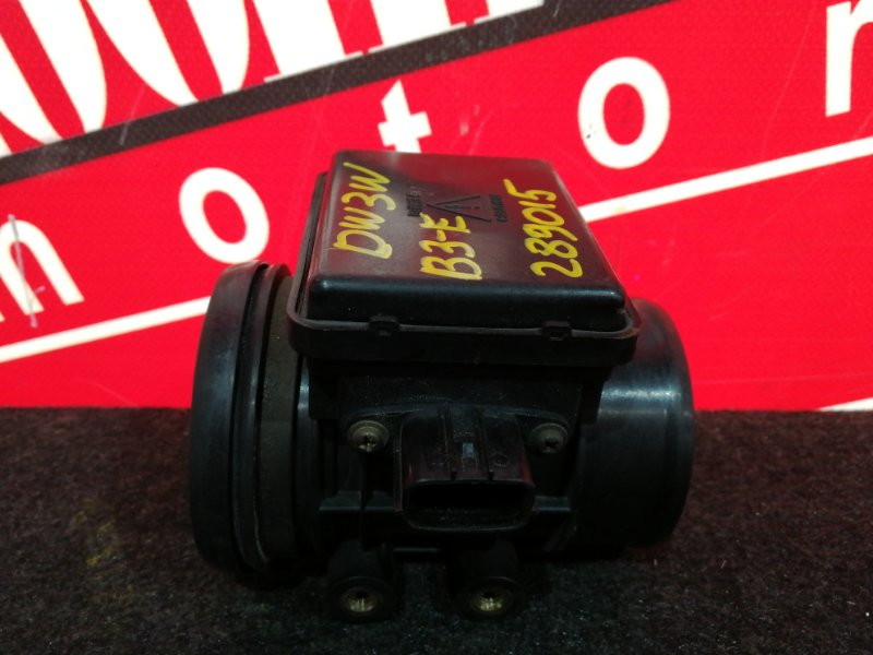 Расходомер (датчик расхода воздуха) Mazda Demio DW3W B3-E 1996