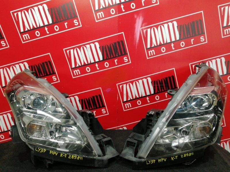 Фара Mazda Mpv LY3P L3-VE 2006 передняя 5620