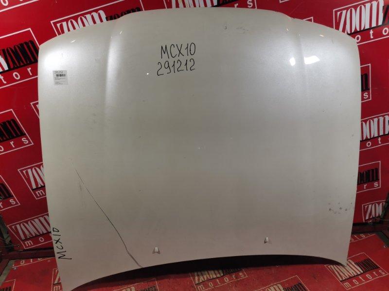 Капот Toyota Avalon MCX10 1MZ-FE 1994 передний белый перламутр