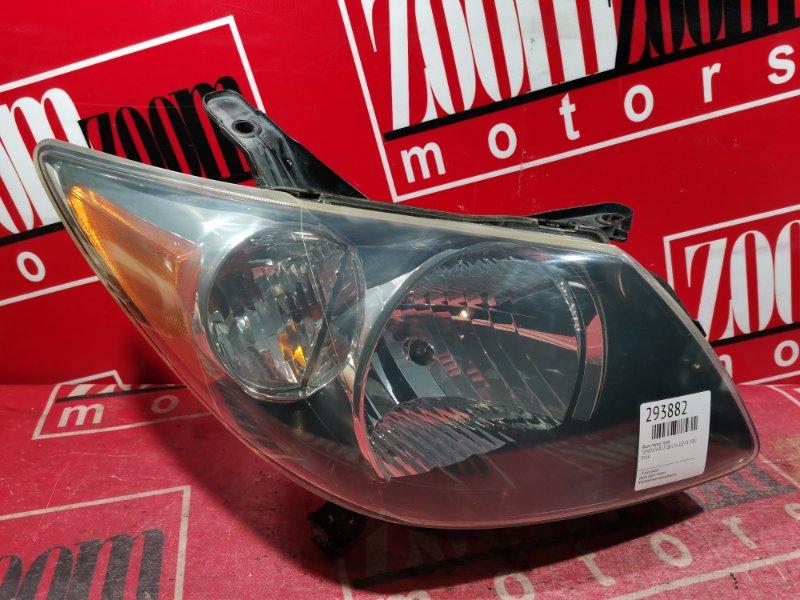 Фара Toyota Voltz ZZE136 1ZZ-FE 2002 передняя правая 0114