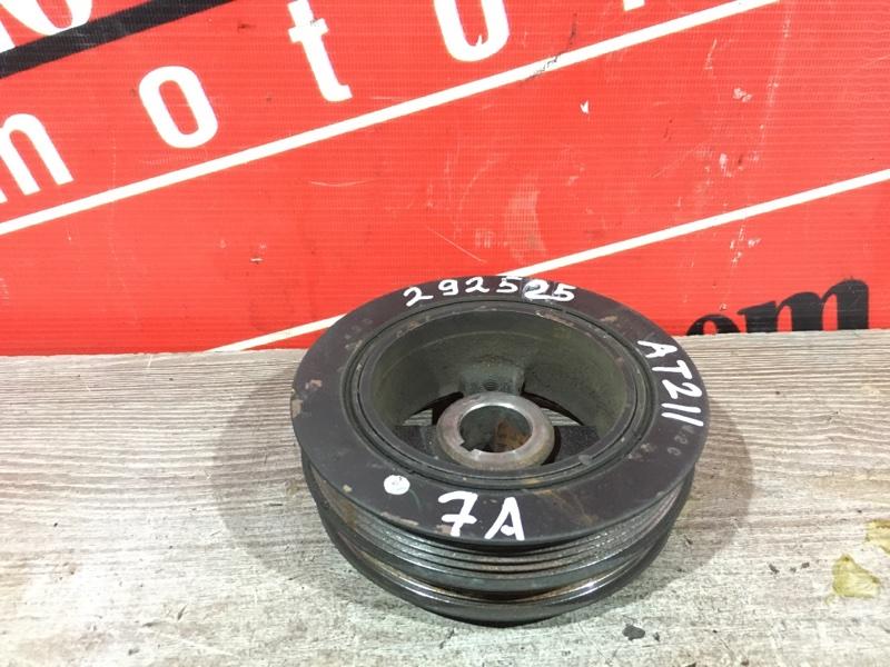 Шкив коленвала Toyota Corona Premio AT210 7A-FE 1996