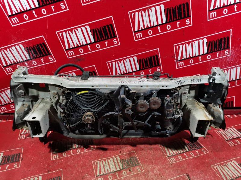 Рамка радиатора Toyota Corona Exiv ST180 4S-FE 1989 белый
