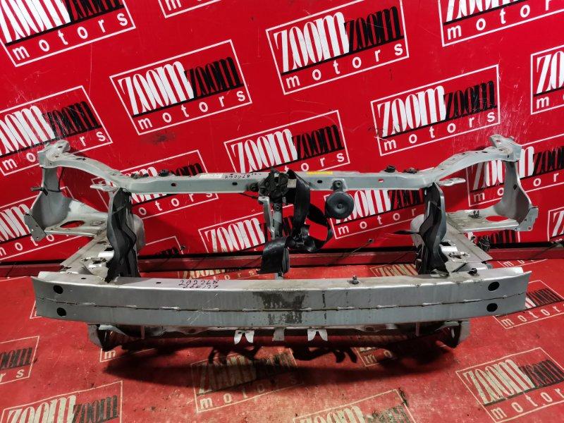 Рамка радиатора Toyota Will Vs NZE127 1NZ-FE `2001 передняя серебро