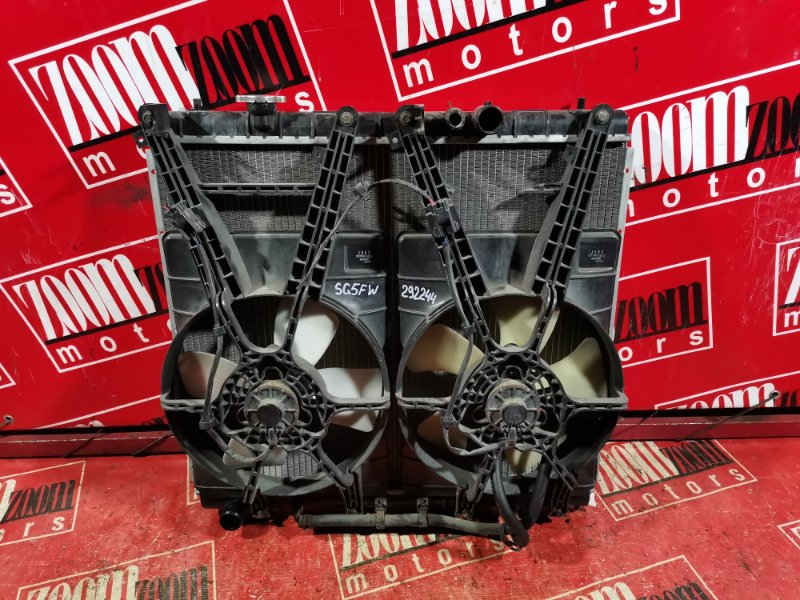 Радиатор двигателя Mazda Bongo Friendee SG5W WL 1999