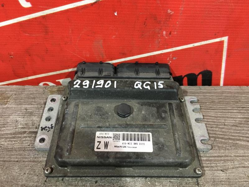 Компьютер (блок управления) Nissan Sunny FB15 QG15DE 1999 A56 W23 BW5 3X19