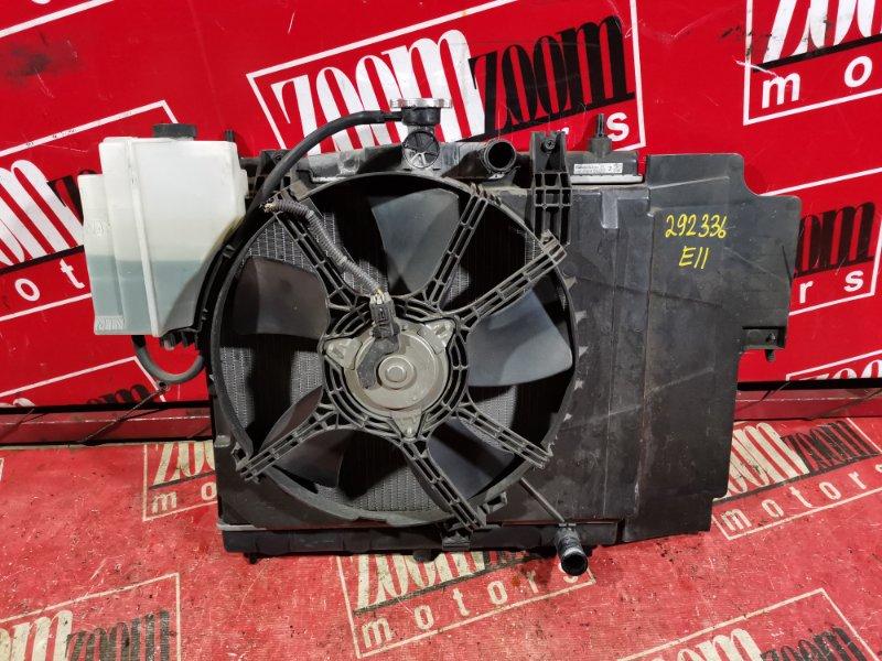Радиатор двигателя Nissan Note E11 HR15DE 2007