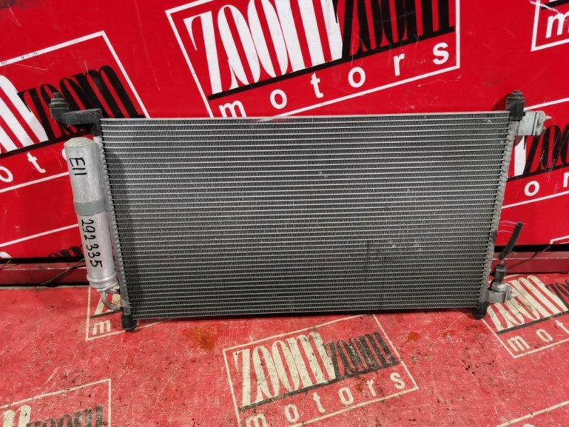 Радиатор кондиционера Nissan Note E11 HR15DE 2007