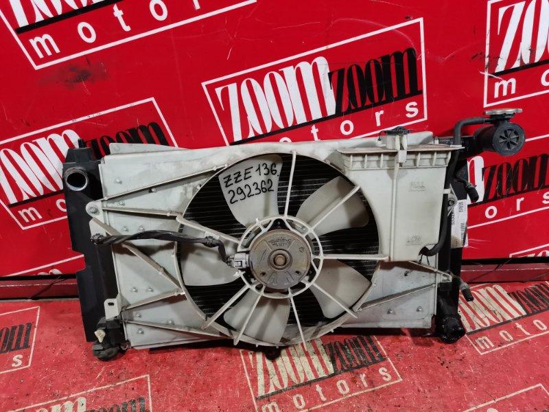 Радиатор двигателя Toyota Voltz ZZE136 1ZZ-FE 2002