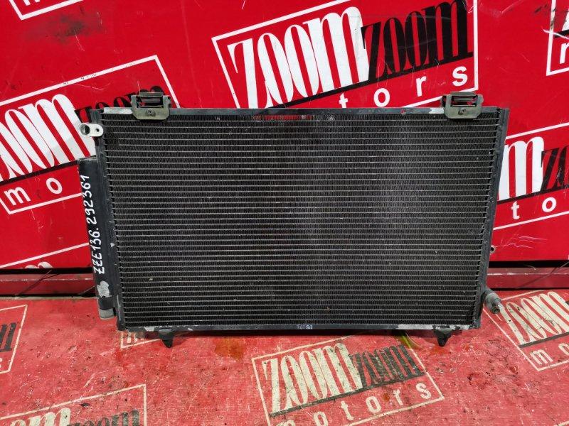 Радиатор кондиционера Toyota Voltz ZZE136 1ZZ-FE 2002