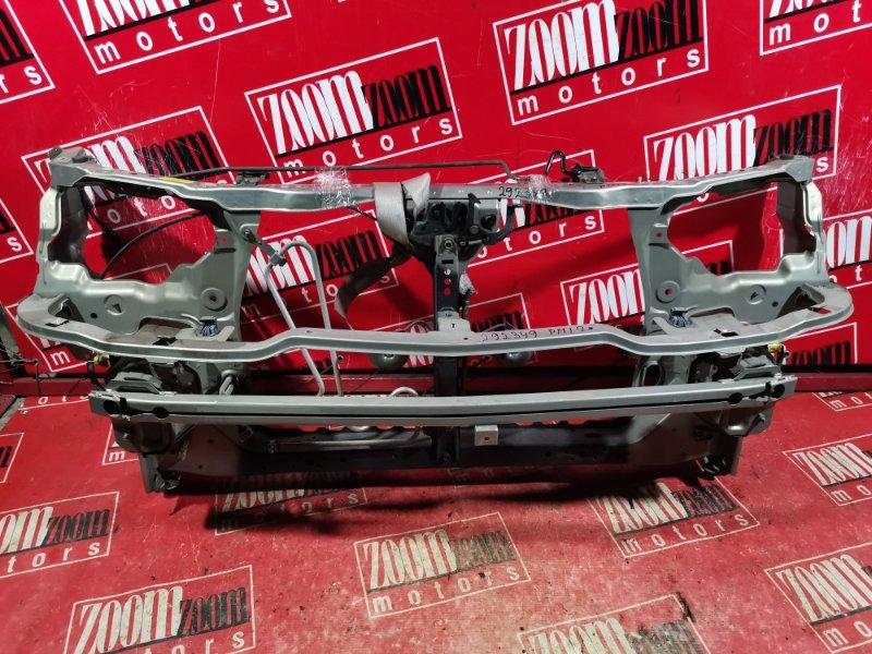 Рамка радиатора Nissan Liberty PM12 SR20DE 2001 передняя серебро