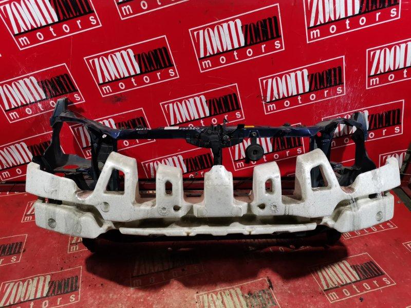 Рамка радиатора Toyota Voltz ZZE136 1ZZ-FE 2002 передняя синий