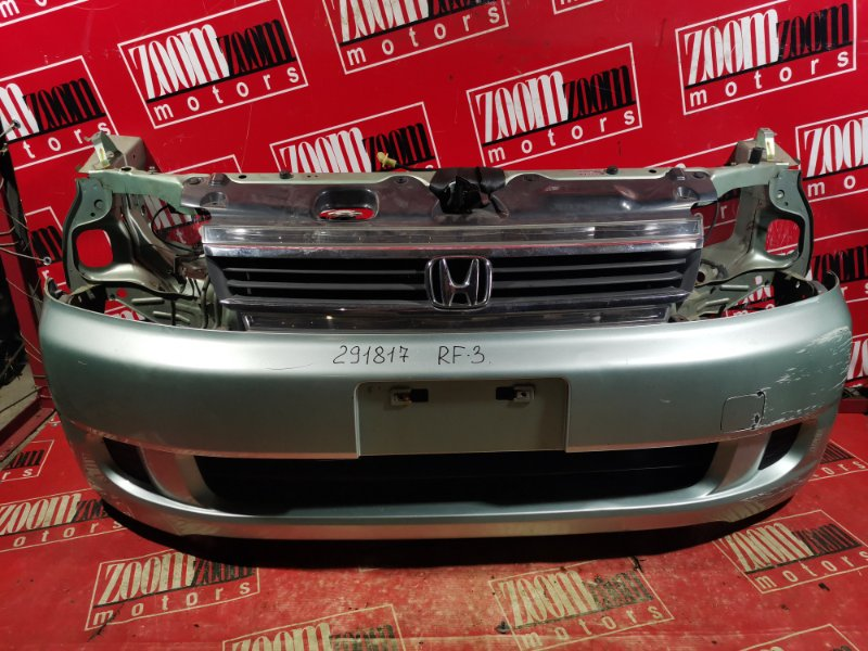 Nose cut Honda Stepwgn RF3 K20A 2001 передний салатовый