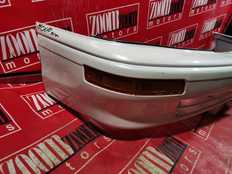 Бампер Toyota Avalon MCX10 1MZ-FE 1994 передний белый