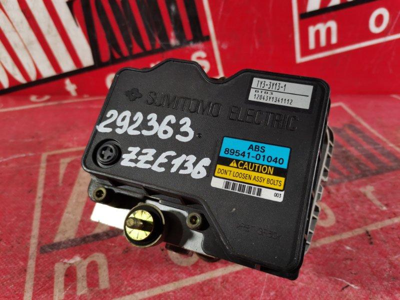 Блок abs (модулятор abs) Toyota Voltz ZZE136 1ZZ-FE 2002