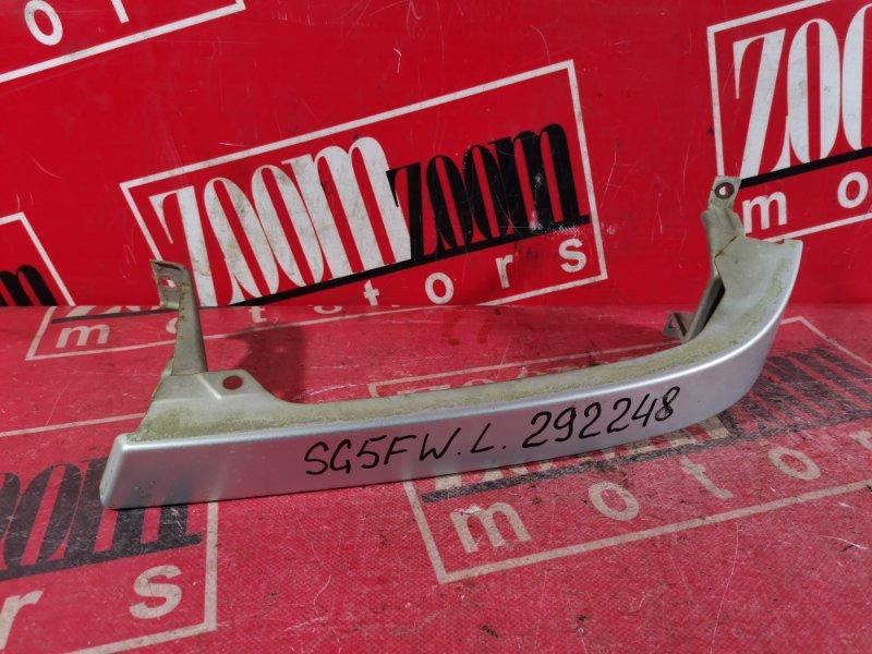 Планка под фару Mazda Bongo Friendee SG5W WL 2001 передняя левая серебро