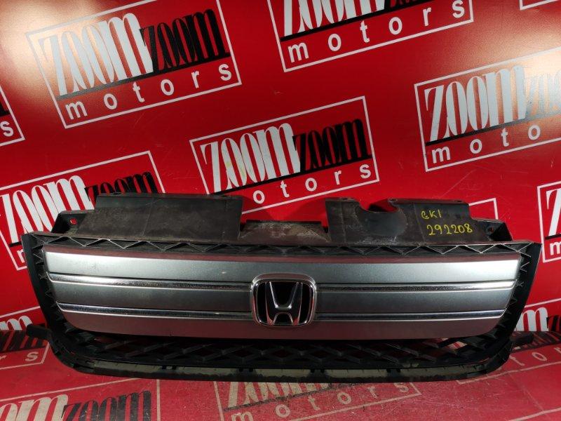 Решетка радиатора Honda Mobilio Spike GK1 L15A 2005 передняя серый