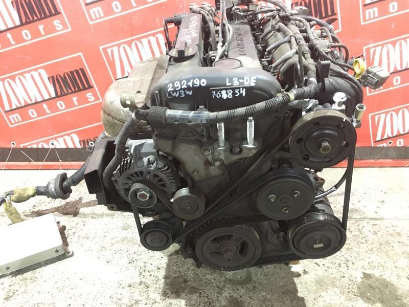 Двигатель Mazda Mpv LW3W L3-DE 2002 768834