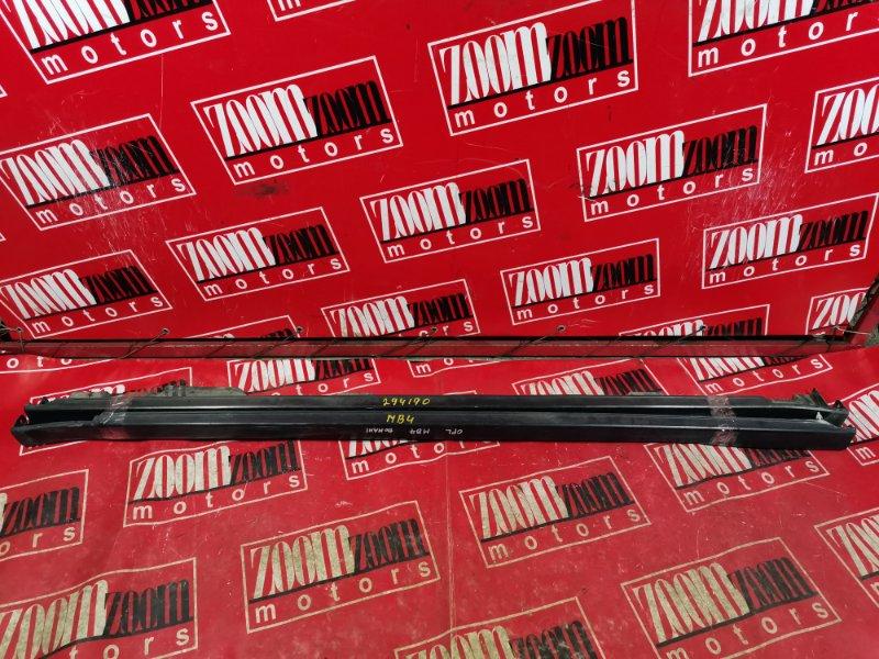 Порог Honda Domani MB4 D15B 1996 черный