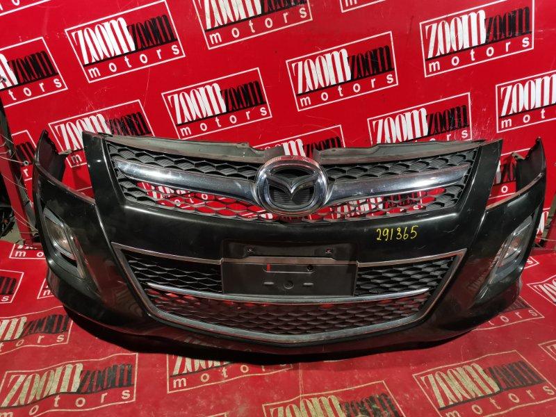 Бампер Mazda Mpv LY3P L3-VE 2006 передний черный
