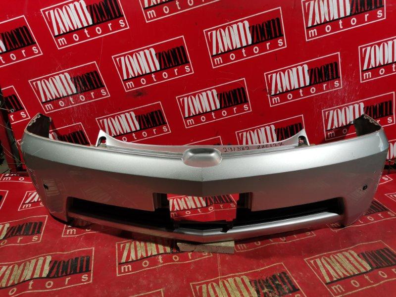 Бампер Toyota Will Vs ZZE127 1ZZ-FE 2002 задний серебро