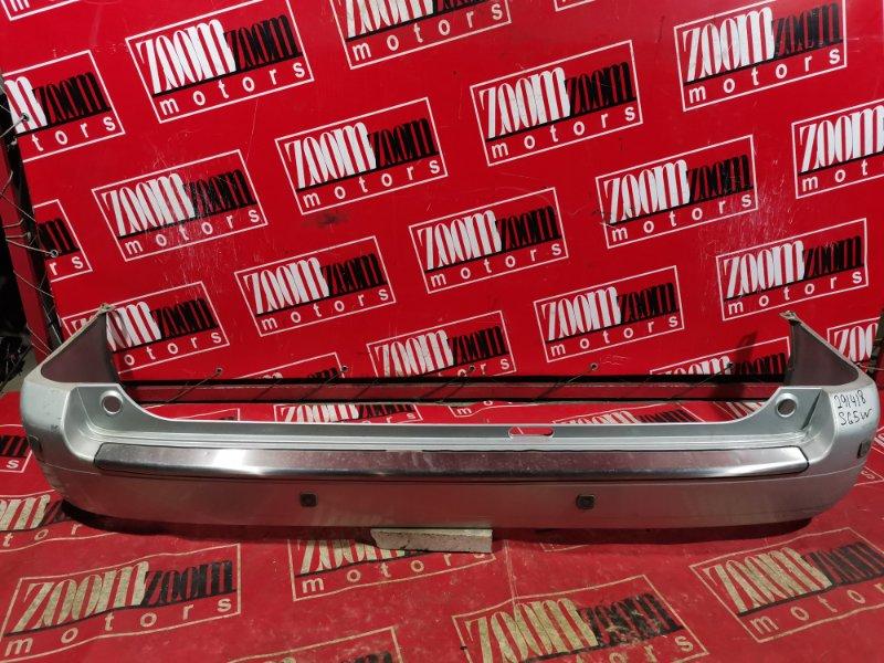 Бампер Mazda Bongo Friendee SGEW FE-E 2001 задний серебро