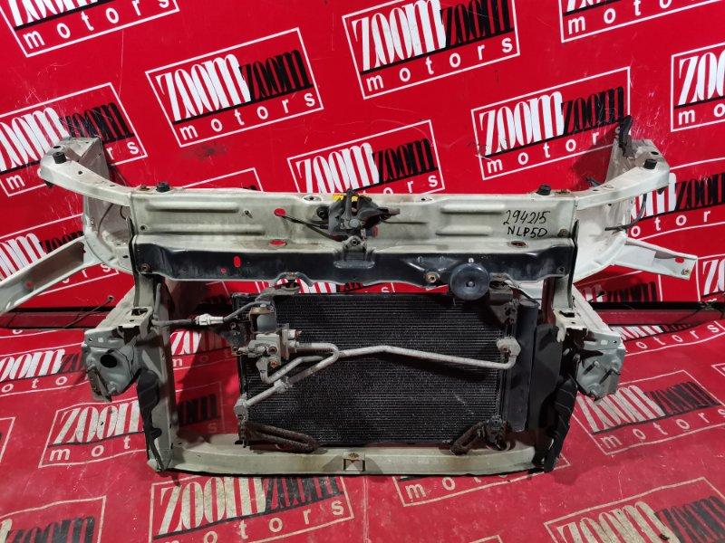 Рамка радиатора Toyota Probox NCP50 1NZ-FE 2002 передняя белый