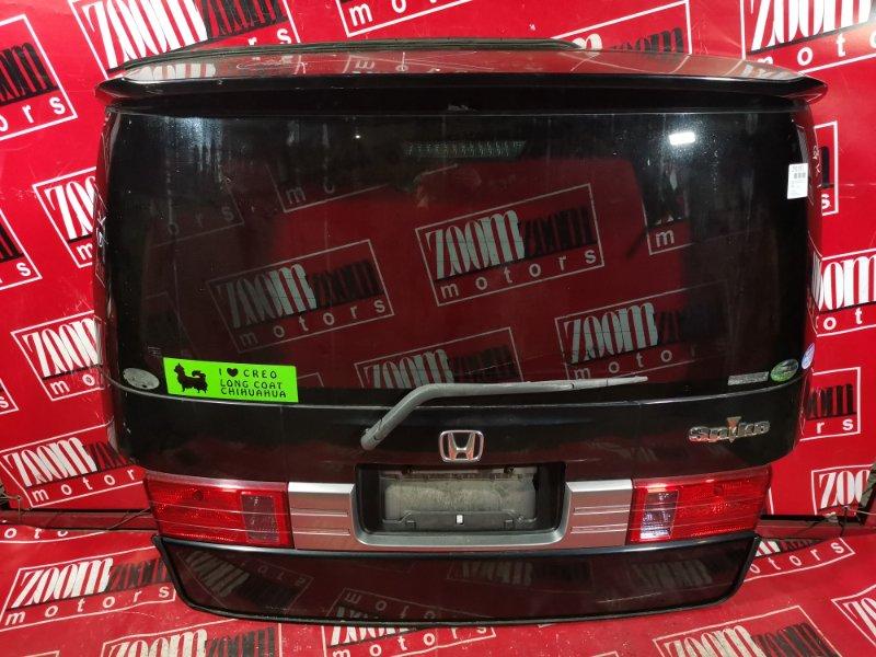 Дверь задняя багажника Honda Mobilio Spike GK1 L15A 2005 задняя черный