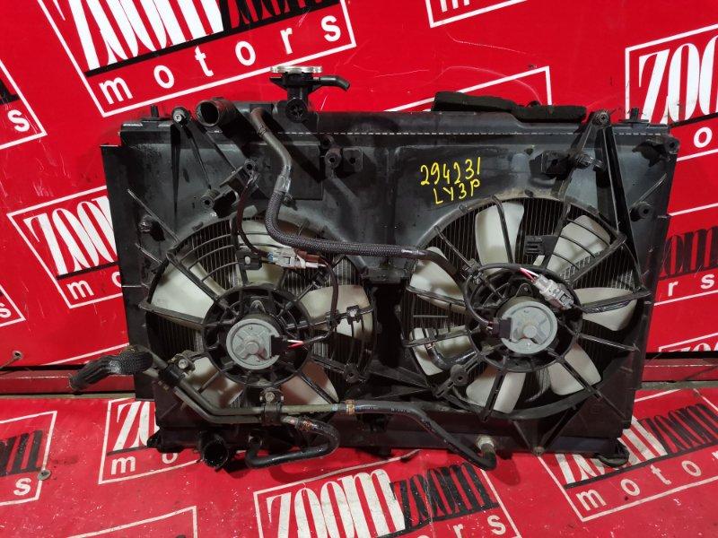 Радиатор двигателя Mazda Mpv LY3P L3-VE 2006