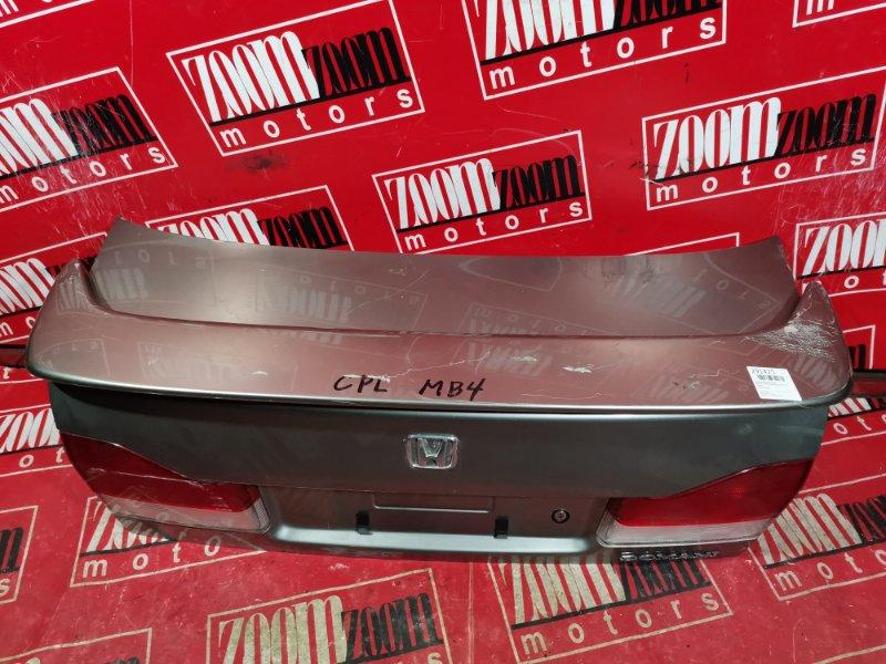 Крышка багажника Honda Domani MB4 D15B 1995 задняя серый