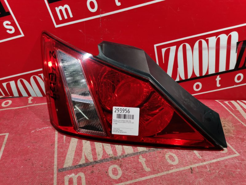 Фонарь (стоп-сигнал) Toyota Will Vs ZZE127 1ZZ-FE 2001 задний левый 12-484