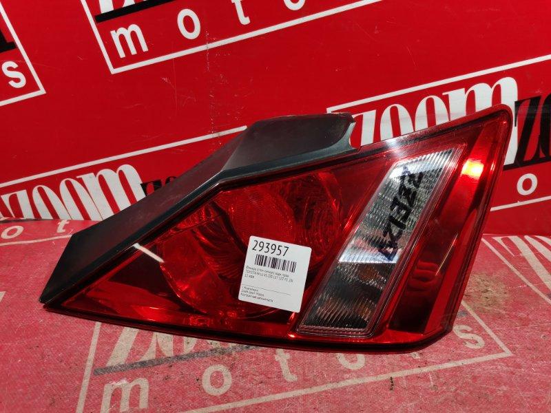 Фонарь (стоп-сигнал) Toyota Will Vs ZZE127 1ZZ-FE 2001 задний правый 12-484