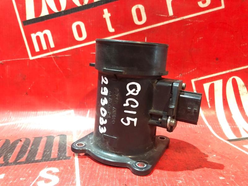Расходомер (датчик расхода воздуха) Nissan Sunny FB15 QG15DE 1998 22680 AW400