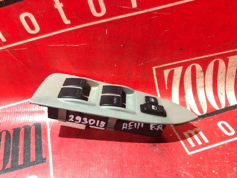 Блок управления стеклоподъемниками Toyota Corolla Spacio AE111 4A-FE 1997 передний правый