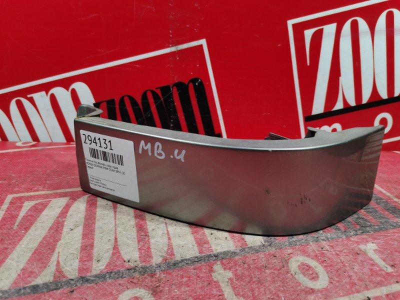 Планка под фонарь Honda Domani MB4 D16A 1995 задняя правая серый