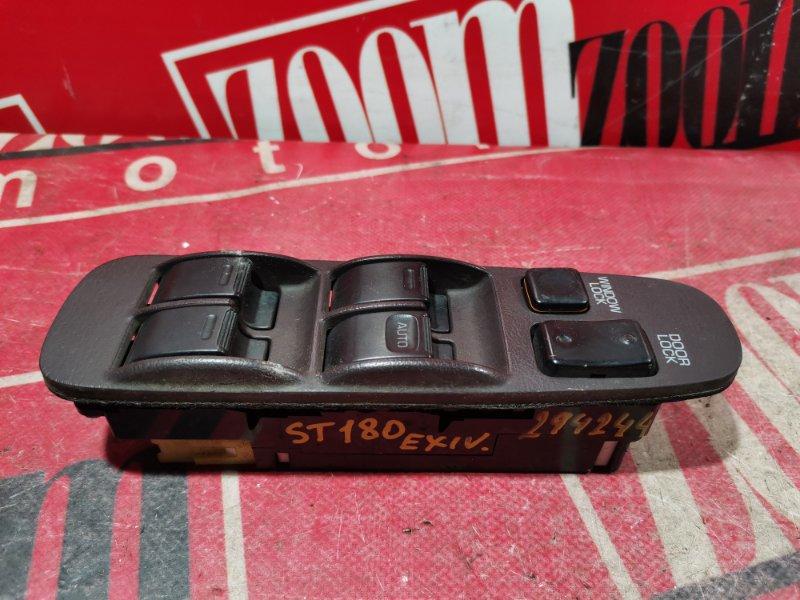 Блок управления стеклоподъемниками Toyota Corona Exiv ST180 4S-FE 1989 передний правый