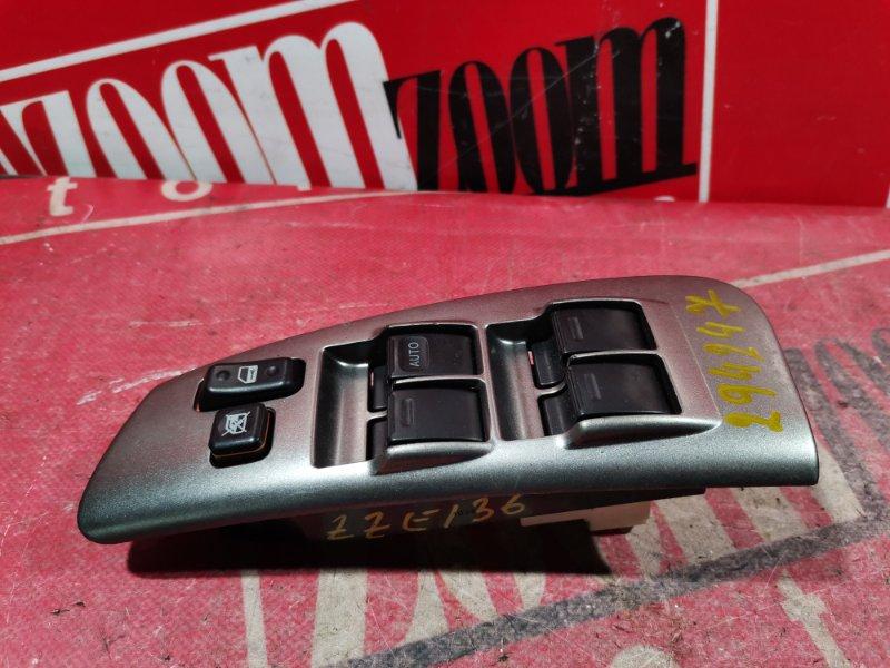 Блок управления стеклоподъемниками Toyota Voltz ZZE136 1ZZ-FE 2002 передний правый