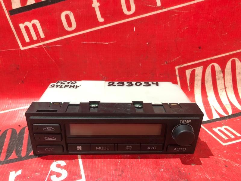 Блок управления отоплением и вентиляцией Nissan Bluebird Sylphy FG10 QG15DE 2000