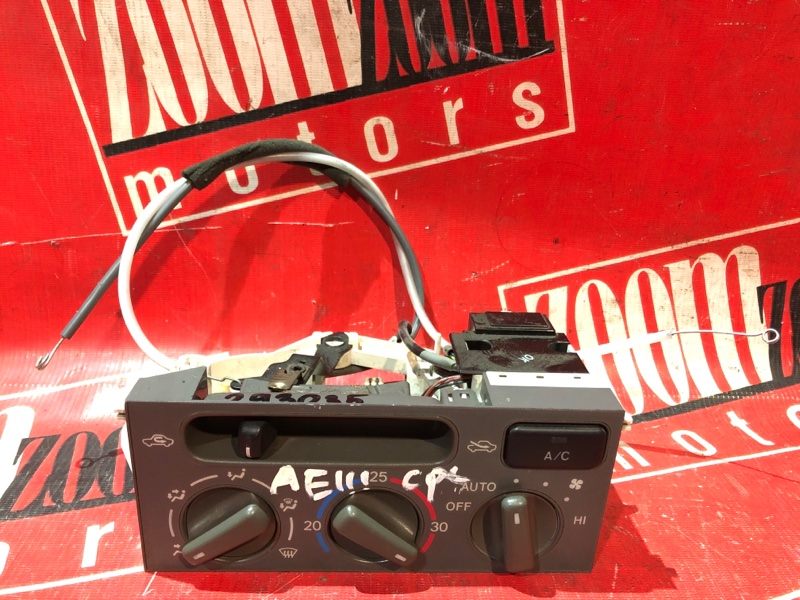 Блок управления отоплением и вентиляцией Toyota Corolla Spacio AE111 4A-FE 1997