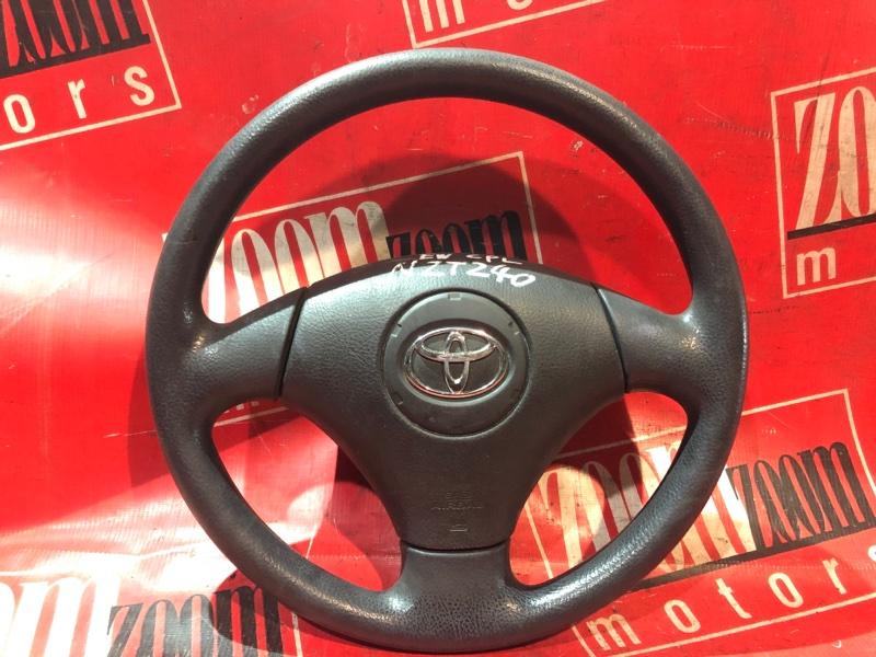 Руль Toyota Allion NZT240 1NZ-FE 2001 передний черный