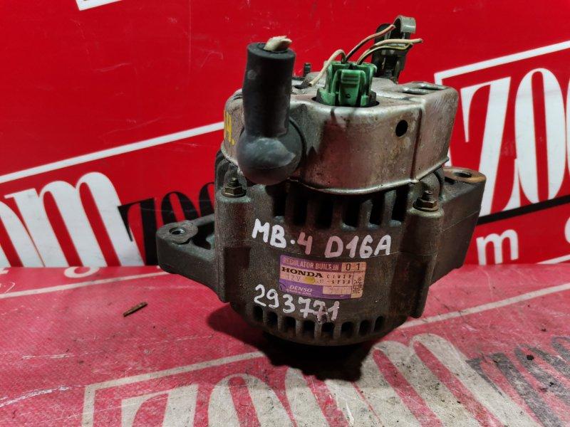 Генератор Honda Domani MB4 D16A 1998