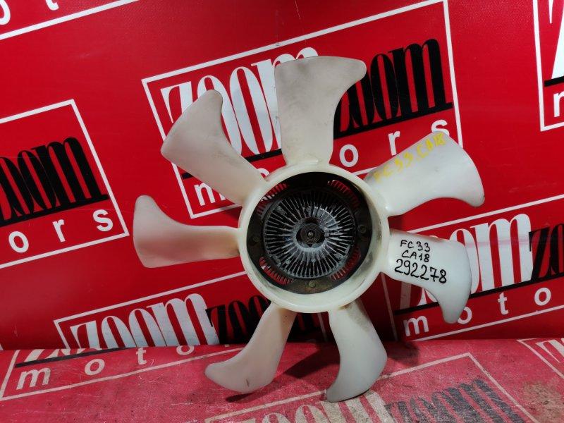 Вискомуфта вентилятора радиатора Nissan Laurel FC33 CA18 1988