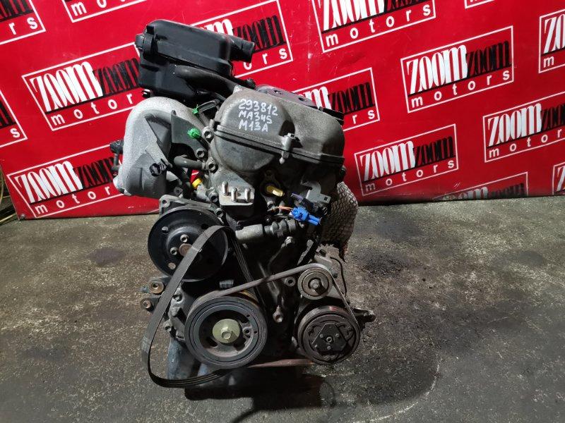 Двигатель Suzuki Wagon R Solio MA34S M13A 2000 1705316